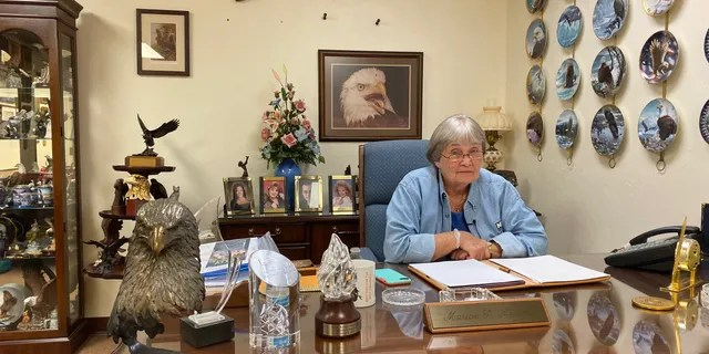 Marion Hammer, former President of the National Rifle Association and a current gun-rights lobbyist in Florida.