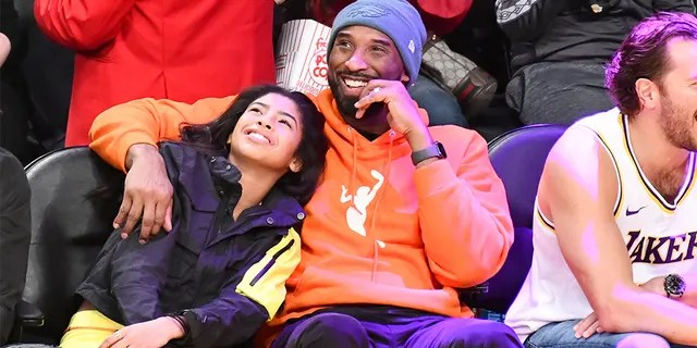 A Dec. 29, 2019 photo of Kobe Bryant and daughter Gianna Bryant at a basketball game between the Los Angeles Lakers and the Dallas Mavericks at Staples Center. (Photo by Allen Berezovsky/Getty Images)