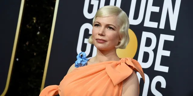 Michelle Williams arrives at the 77th annual Golden Globe Awards at the Beverly Hilton Hotel on Sunday, Jan. 5, 2020, in Beverly Hills, Calif.