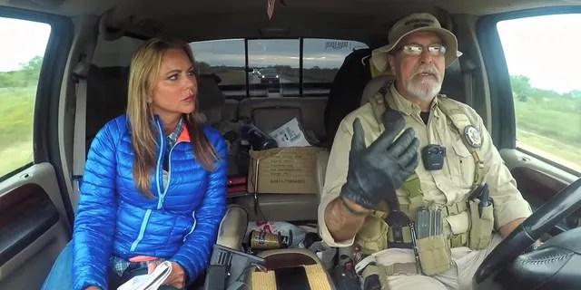 Lara Logan on the U.S. Mexican border