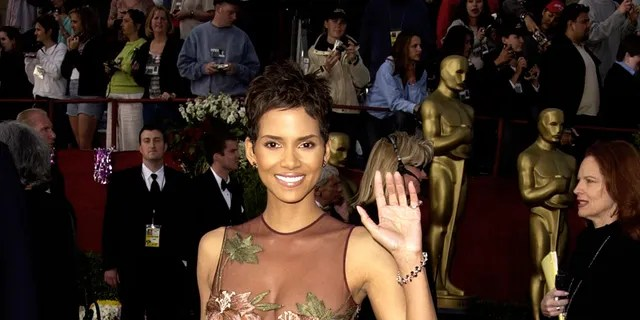 Halle Berry at the 2002 Oscars.