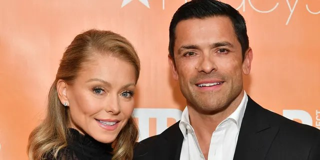 Kelly Ripa and Mark Consuelos attend the 2019 TrevorLIVE New York Gala at Cipriani Wall Street.