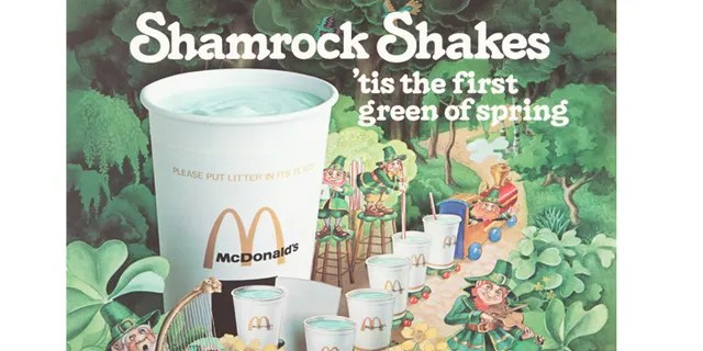 Much more than just a harbinger of spring, the Shamrock Shake has a philanthropic past.