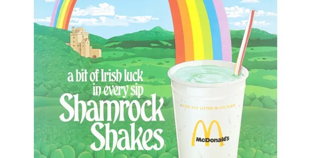 The Shamrock Shake will hit menus across the country on Feb. 19, marking the first time in three years that the minty vanilla milkshake has been offered nationwide.