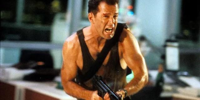 Bruce Willis in 'Die Hard' is leaving Hulu in June of 2021.