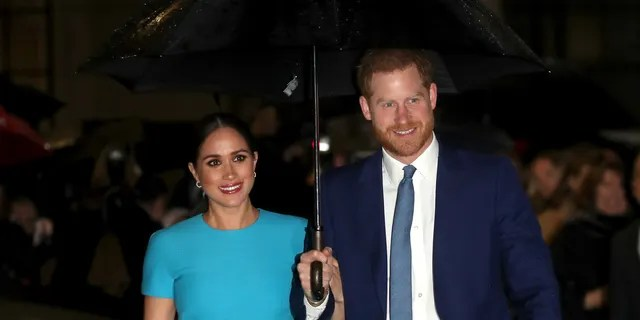 Meghan, Duchess of Sussex and Prince Harry, Duke of Sussex attend The Endeavour Fund Awards at Mansion House on March 05, 2020 in London, England.