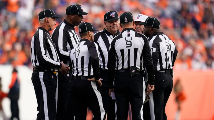 NFL teams propose 7 rules changes, including extra officials