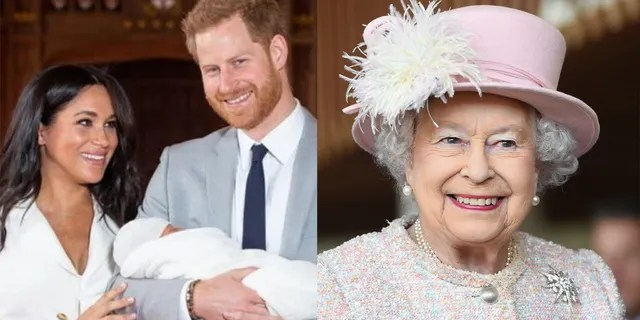 Harry told Oprah that his grandmother, Queen Elizabeth II, and grandfather, Prince Philip, were not part of conversations over his son's skin tone.