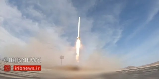 In this image taken from video, an Iranian rocket carrying a satellite is launched from an undisclosed site believed to be in Iran's Semnan province Wednesday, April 22, 2020.