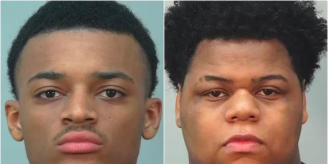 Khari Sanford, left, and Ali'jah Larrue face charges in connection with the shooting deaths of a Wisconsin doctor and her husband, authorities say. (Dane County Sheriff's Office)
