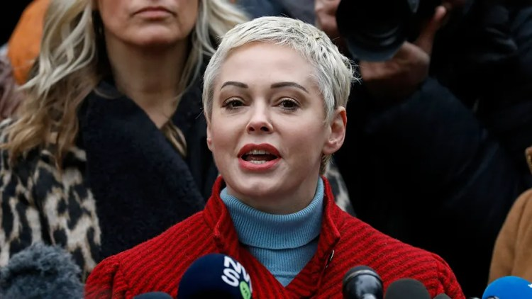 Rose McGowan lashes out at Democrats, media: 'Now I know ...