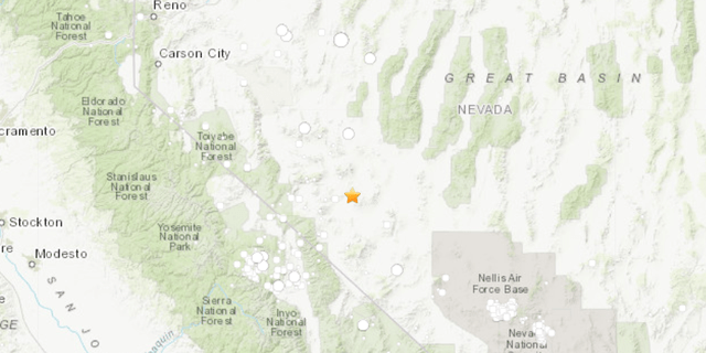 A magnitude 6.5 earthquake struck in remote western Nevada early Friday, according to the U.S. Geological Service.