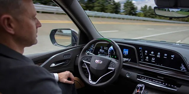 The Cadillac Escalade will be offered with Super Cruise when it goes on sale later this year.