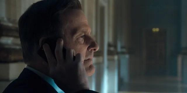 Jeff Daniels as James Comey in