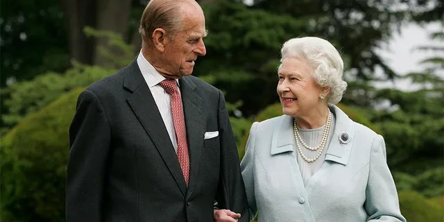Queen Elizabeth II and Prince Philip, The Duke of Edinburgh return to Broadlands to mark their diamond wedding anniversary on November 20