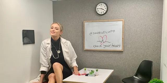 Danielle Lupo says she enjoys balancing both worlds.