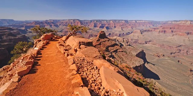 A woman from California who was hiking on the South Kaibab Trail heading into the Grand Canyon died on Wednesday. Officials said her death was heat-related.