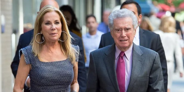 Kathy Lee Gifford and Regis Philbin are spotted in New York City on September 23, 2015.