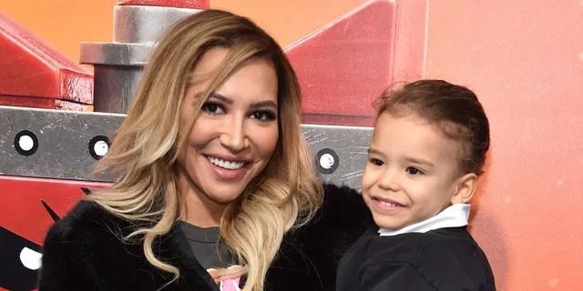 Naya Rivera and her son Josey Hollis Dorsey.