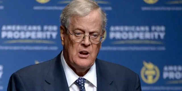 David Koch in this undated photo (Associated Press)