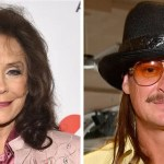 Kid Rock, 49, Loretta Lynn, 88, get 'married' during her son's vow renewal: 'Sorry girls, he's taken now!'