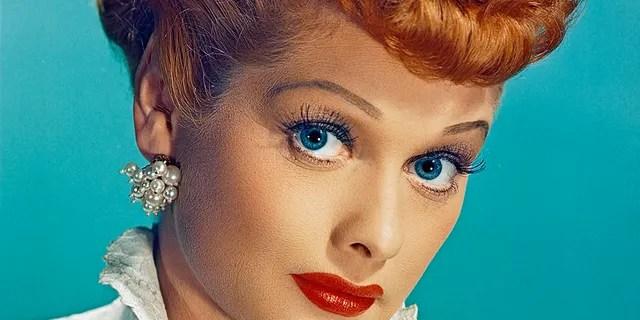 Lucille Ball (1911-1989) as Lucy Esmeralda MacGillicuddy Ricardo in the popular TV series 'I Love Lucy,' circa 1955.