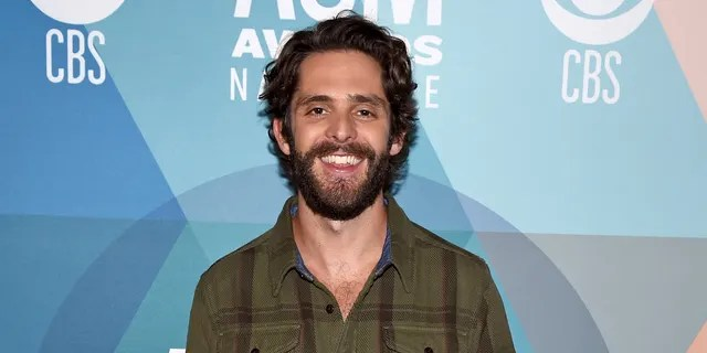 Thomas Rhett scored an early win for his 'Remember You Young' music video. (Photo by John Shearer/ACMA2020/Getty Images for ACM)