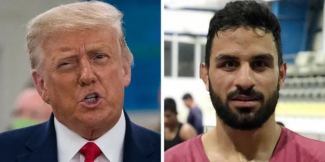 President Trump asked Iranian leaders on Thursday to spare the life of Navid Afkari, a 27-year-old champion wrestler.