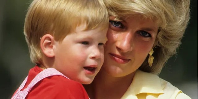 Princess Diana (seen here with a young Prince Harry) passed away in 1997 at age 36 from injuries she sustained in a Paris car crash.