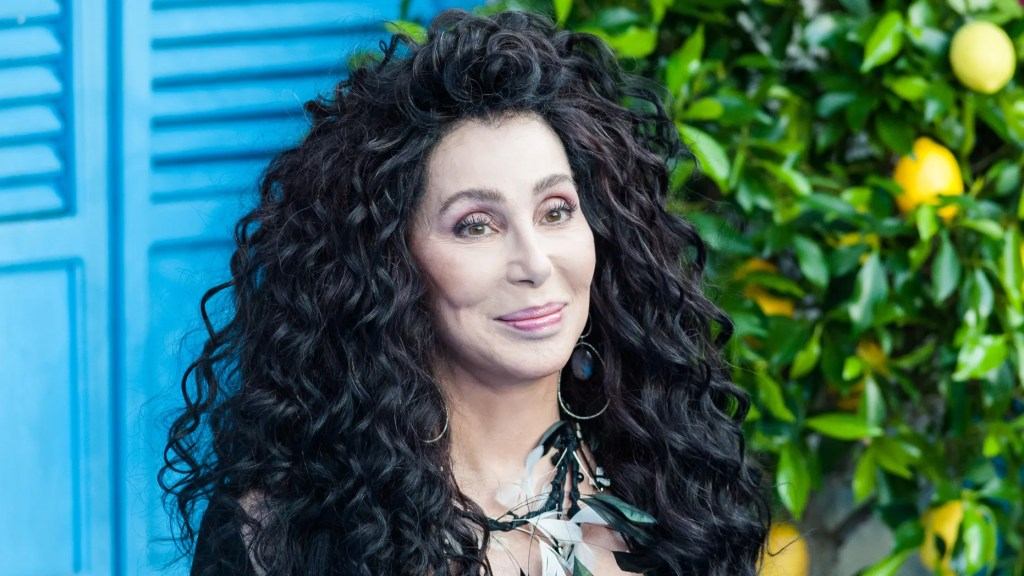 WATCH: Cher debuts 'Happiness is Just a Thing Called Joe