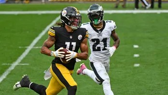 Rookie WR Claypool scores 4 TDs, Steelers top Eagles 38-29