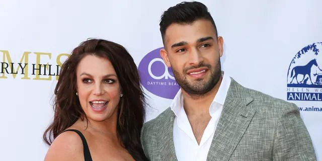 Britney Spears first met Sam Asghari in 2016 on the set of her 'Slumber Party' music video. (Photo by Paul Archuleta/FilmMagic )