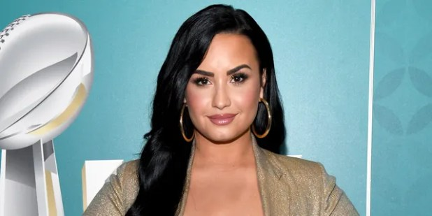 Demi Lovato released a music video for her politically charged song 'Commander in Chief'.  (Photo by Kevin Mazur / Getty Images for SiriSMM)