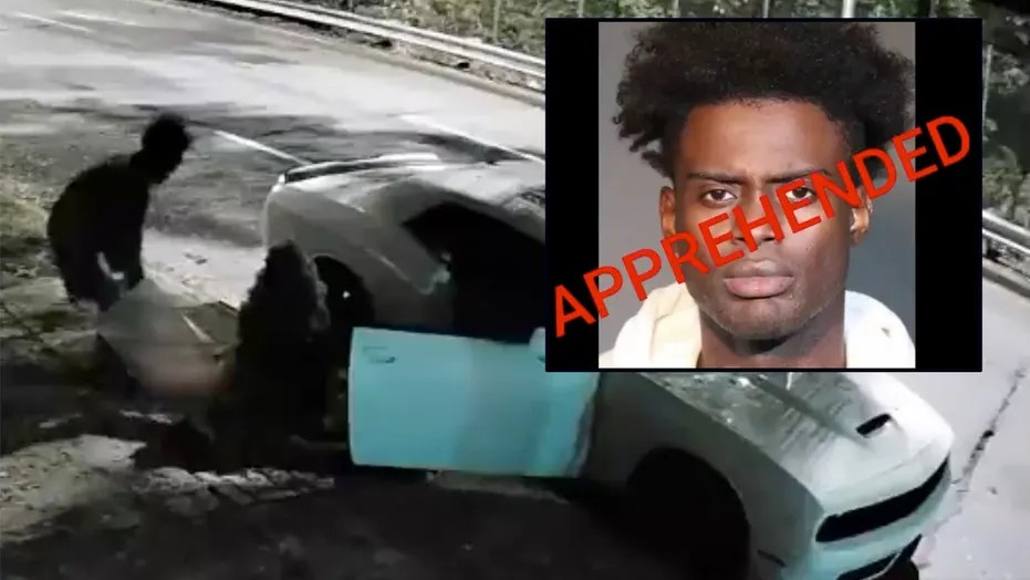 WATCH: NYPD arrest man seen on video leaving pregnant girlfriend's body on side of expressway, sources say