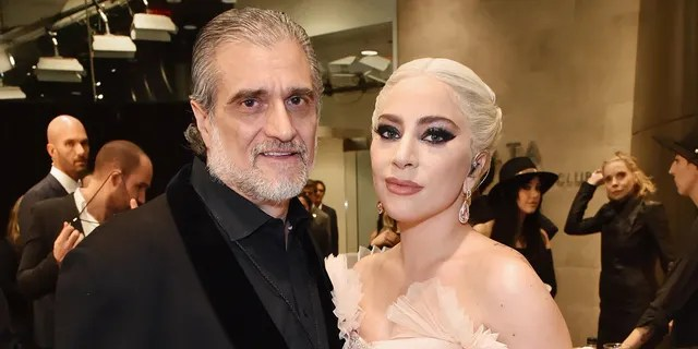 Joe Germanotta (left) said he is 'extremely proud' of his daughter, Lady Gaga (right).