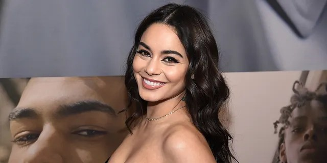 Vanessa Hudgens posed in a leopard-print bikini in recent photos shared to her Instagram. (Photo by Jamie McCarthy/Getty Images)