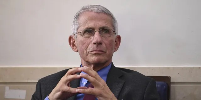 Anthony Fauci, director of the National Institute of Allergy and Infectious Diseases, attends a Coronavirus Task Force news conference at the White House in Washington, D.C., U.S., on Friday, April 10, 2020. Photographer: Kevin Dietsch/UPI/Bloomberg via Getty Images