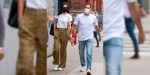 Katie Holmes and Emilio Vitolo Jr. first connected in August.