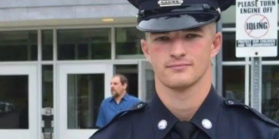 Timothy Tufts of Marblehead Police's Facebook page when he joined the department in 2016.