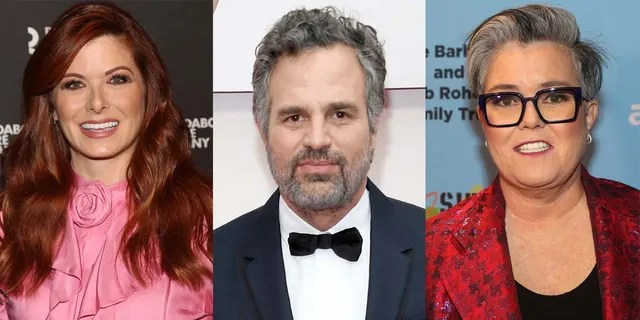 Celebrities Debra Messing, Mark Ruffalo and Rosie O'Donnell called for Donald Trump to be removed from office after protesters stormed the U.S. Capitol building.