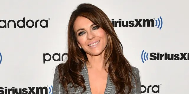 British actress and model Elizabeth Hurley is also a swimsuit designer.