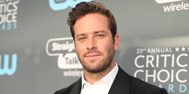 Actor Armie Hammer was dropped from numerous career projects amid sexual assault allegations. (Photo by Christopher Polk/Getty Images for The Critics' Choice Awards)
