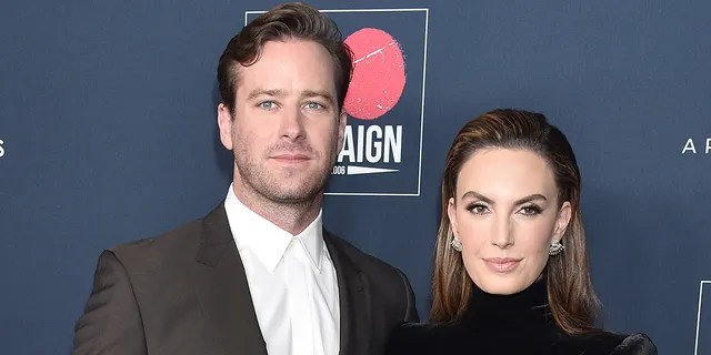Armie Hammer and Elizabeth Chambers were reportedly seen exchanging goodbyes hours before the actor jumped on a plane from the Cayman Islands to Orlando, Fla., where he checked himself into a treatment facility, according to Vanity Fair. (Photo by Gregg DeGuire/FilmMagic)