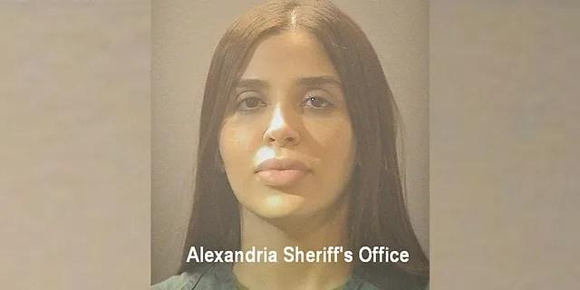 Emma Coronel Espuero (Alexandria Sheriff's Office)