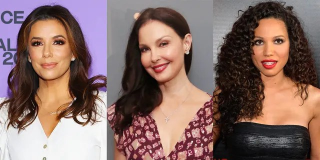 Eva Longoria (left), Ashley Judd (center) and Jurnee Smollet (right) are on the Time's Up board of directors.