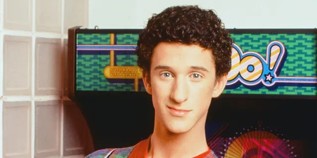 "Dustin Diamond as Screech Powers on ""Saved by the Bells"".  (Getty Images)"