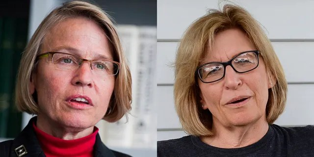 GOP Rep.  Mariannette Miller-Meeks (left) and Democrat Rita Hart (right) contested the 2020 Congress in the nation.  Miller-Mix was declared the winner in Iowa by just six votes.  Hart is contesting with the US House of Representatives.