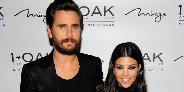 Scott Disick, left, appeared to shade ex Kourtney Kardashian in alleged DMs exposed by her other ex, Younes Bendjima.