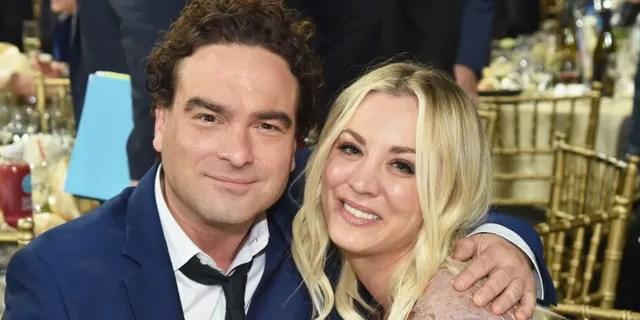 Kaley Cuoco still talks to 'Big Bang Theory' co-star Johnny Galecki.