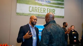 Career fair helps former NFL players find new careers